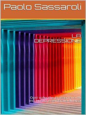 cover image of La depressione