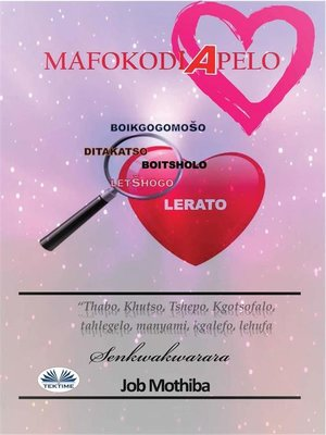 cover image of Mafokodi a Pelo