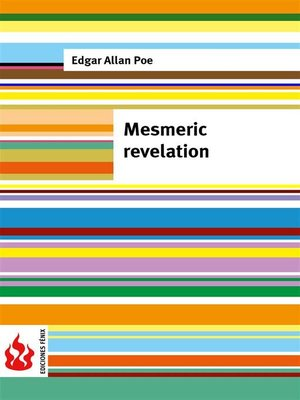 cover image of Mesmeric revelation (low cost). Limited edition