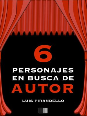 cover image of Seis Personajes en busca de autor