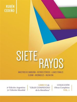 cover image of Siete Rayos