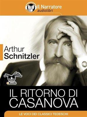 cover image of Il ritorno di Casanova