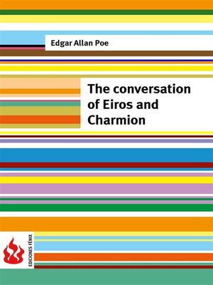 cover image of The conversation of Eiros and Charmion (low cost). Limited edition