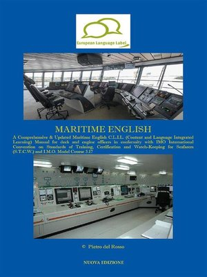cover image of Maritime English