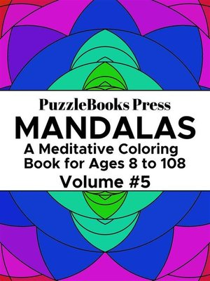 cover image of PuzzleBooks Press Mandalas – Volume 5