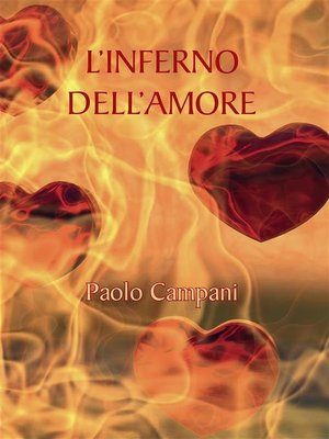 cover image of L'inferno dell'amore