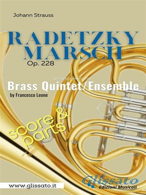 cover image of Radetzky Marsch--Brass Quintet/Ensemble (score & parts)