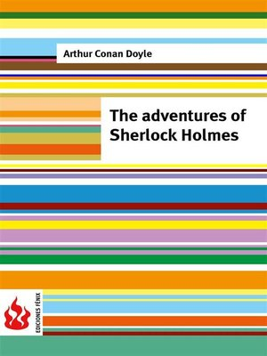 cover image of The adventures of Sherlock Holmes (low cost). Limited edition