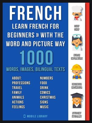 cover image of French--Learn French for Beginners--With the Word and Picture Way
