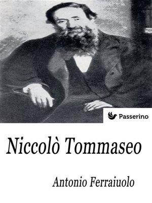 cover image of Niccolò Tommaseo