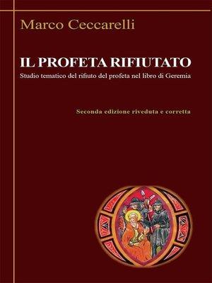 cover image of Il profeta rifiutato