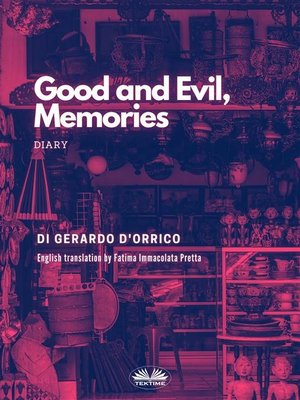 cover image of Good and Evil, Memories