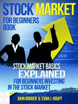 cover image of Stock Market For Beginners Book