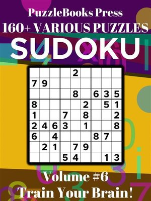 cover image of PuzzleBooks Press Sudoku – Volume 6