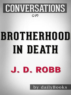 cover image of Brotherhood in Death--by J. D. Robb