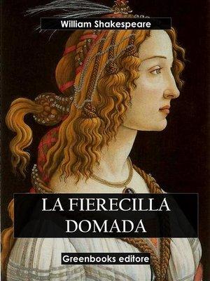 cover image of La fierecilla domada