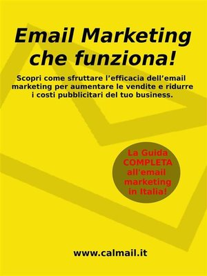 cover image of Email marketing che funziona