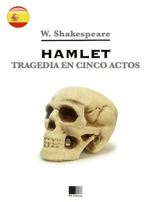 cover image of Hamlet. Tragedia en cinco actos.