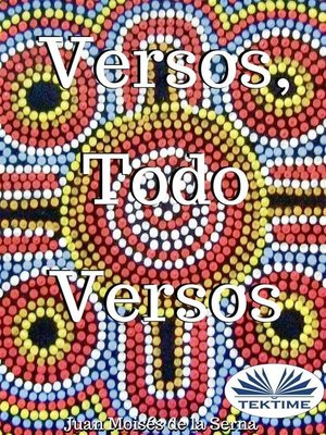 cover image of Versos, Todo Versos
