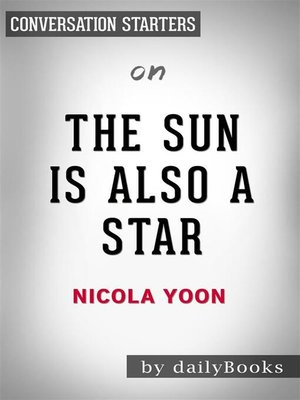 cover image of The Sun is Also a Star--by Nicola Yoon