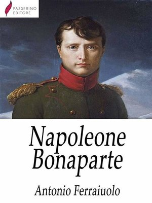 cover image of Napoleone Bonaparte