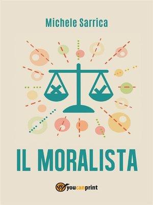 cover image of Il moralista