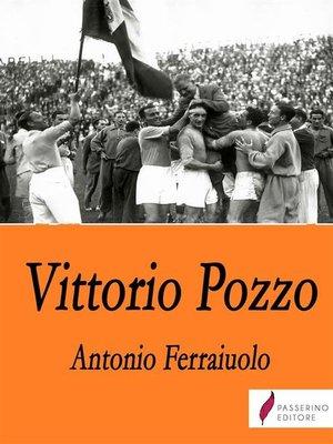 cover image of Vittorio Pozzo