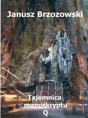 cover image of Tajemnica manuskryptu Q