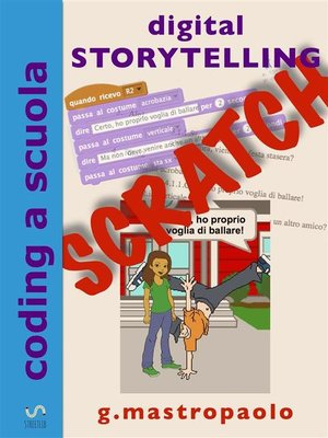 cover image of Digital Storytelling con Scratch