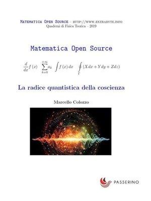 cover image of La radice quantistica della coscienza