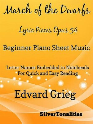 cover image of March the Nutcracker Suite Beginner Piano Sheet Music
