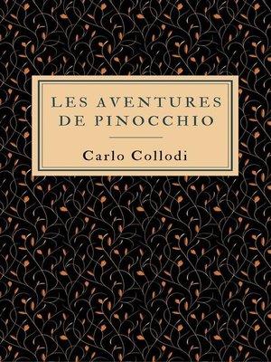 cover image of Les aventures de Pinocchio
