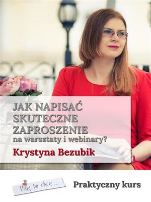 cover image of Jak napisać skuteczne zaproszenie na warsztaty i webinary