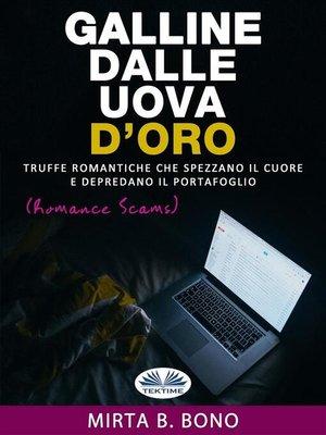 cover image of Galline Dalle Uova D'Oro