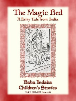 cover image of THE MAGIC BED--A Fairy Tale from India