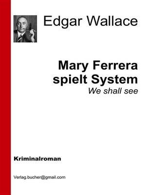 cover image of Mary Ferrara spielt System