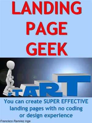 cover image of Landing Page Geek