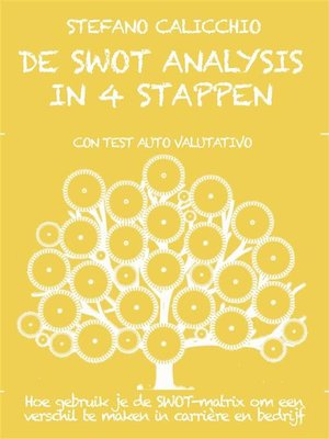 cover image of De swot analysis in 4 stappen
