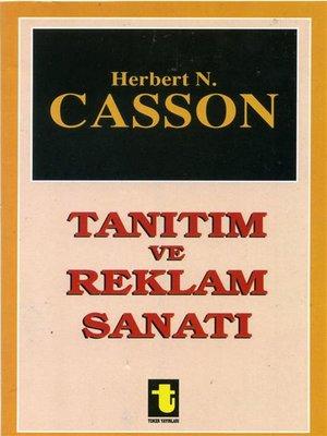 cover image of Tanıtım ve Reklam Sanatı