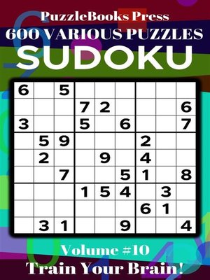 cover image of PuzzleBooks Press Sudoku – Volume 10