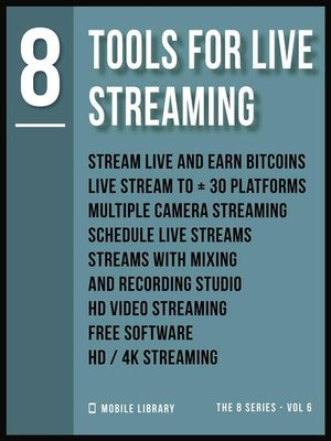 cover image of Tools For Live Streaming 8