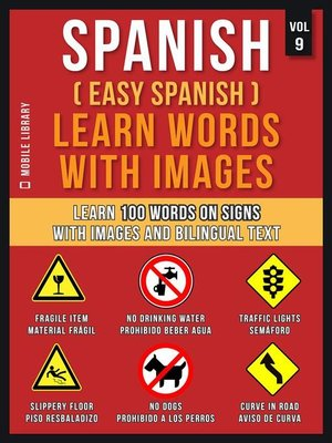 cover image of Spanish ( Easy Spanish ) Learn Words With Images (Vol 9)