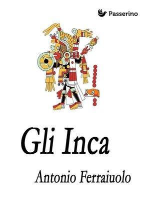 cover image of Gli Inca