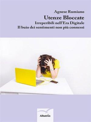 cover image of Utenze Bloccate