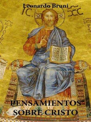 cover image of Pensamientos Sobre Cristo