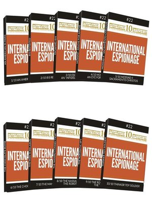 cover image of Perfect 10 International Espionage Plots #22 Complete Collection