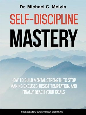 cover image of Self-Discipline Mastery