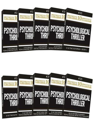 cover image of Perfect 10 Psychological Thriller Plots #35 Complete Collection