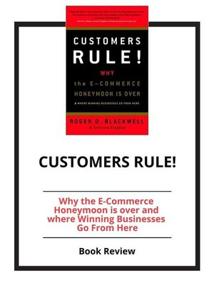 cover image of Customer Rules!