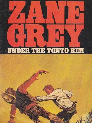 cover image of Under the Tonto Rim